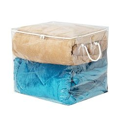 Richards Homewares Clear Vinyl Cube Storage Bag, 16″x16″x16″