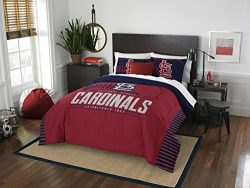 The Northwest Company MLB St. Louis Cardinals Grandslam Full/Queen Comforter and 2 Sham Set