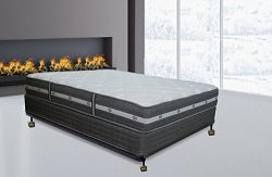 Spring Air, 11-inch Firm Pillowtop Innerspring Mattress and Box Spring / Foundation Set, No Asse ...