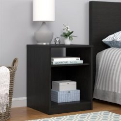 Mainstays Nightstand, Black