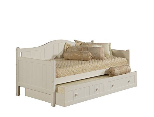 Hillsdale 1525DBT Staci Daybed with Trundle, White