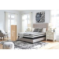 Ashley Furniture Signature Design – 10 Inch Chime Express Hybrid Innerspring Mattress &#82 ...