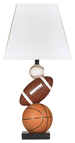 Ashley Furniture Signature Design – Nyx Sports Table Lamp – Children's Lamp &# ...