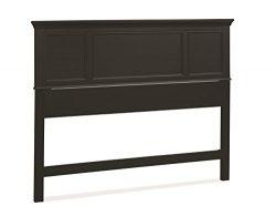 Home Styles 5531-501 Bedford Queen Headboard, Black Ebony Finish