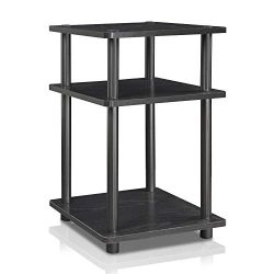 Furinno 15095BW/BK Turn-N-Tube Multipurpose Shelf Blackwood