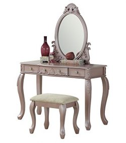 BOBKONA F4169 PDEX-F4169 Vanity Table Rose Gold