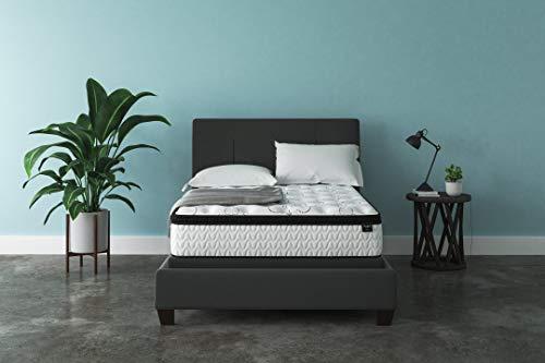 Ashley Furniture Signature Design – 12 Inch Chime Express Hybrid Innerspring Mattress R ...