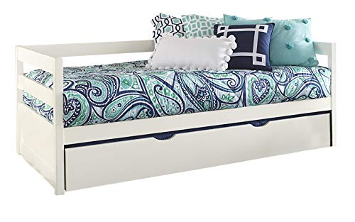 Hillsdale Furniture 2179-010 Hillsdale Caspian Daybed with Trundle, Twin, White