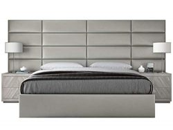VANT Upholstered Headboards – Accent Wall Panels – Packs of 4 – Metallic Neutr ...