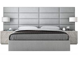 VANT Upholstered Headboards – Accent Wall Panels – Packs of 4 – Textured Cotto ...