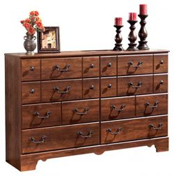 Ashley Furniture Signature Design – Timberline Dresser – 8 Drawers – Vintage C ...