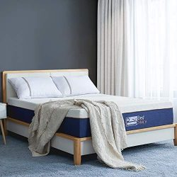 BedStory Lavender Memory Foam Mattress 12 Inch,Queen Mattress with CertiPUR-US Certified Foam (Q ...