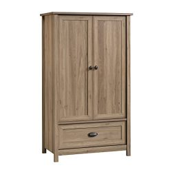 Sauder 419524 Lafayette Armoire, Salt Oak Finish
