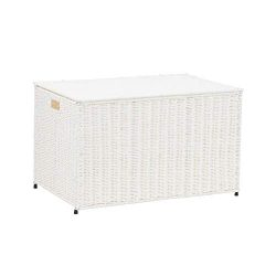 Household Essentials ML-7165 Decorative Wicker Chest with Lid for Storage and Organization | Lar ...