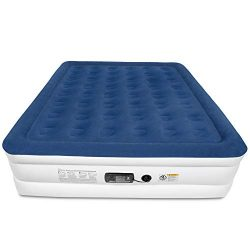 SoundAsleep Dream Series Air Mattress with ComfortCoil Technology & Internal High Capacity P ...
