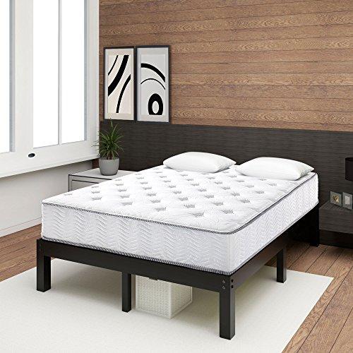 Olee Sleep 10 Inch Hybrid Cool I-Gel Foam Top Innerspring Mattress 10SM01K