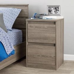 Mainstays Westlake Nightstand, Multiple ColorsRustic Oak