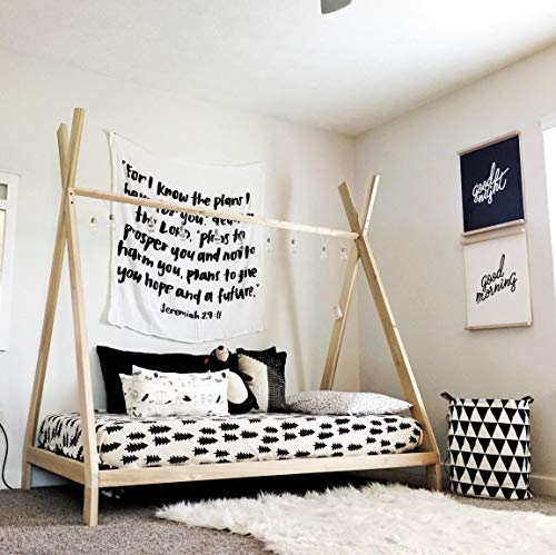 Twin Sized TeePee bed Made in US