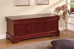 Louis Philippe Cedar Chest Warm Brown
