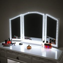 LED Vanity Mirror Lights Kit for Makeup Dressing Table Vanity Set 13ft Flexible LED Light Strip  ...