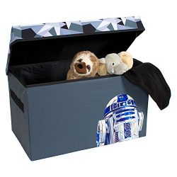 R2-D2 Collapsible Kids Toy Storage Chest by Disney Star Wars – Flip-Top Toy Organizer Bin  ...