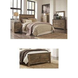 Ashley Furniture Signature Design – Trinell Bedroom Set – Casual Queen Panel Bedset  ...