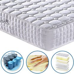 Vesgantti 9.4 Inch Multilayer Hybrid Queen Mattress – Multiple Sizes & Styles Availabl ...