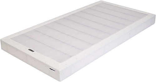 AmazonBasics Mattress Foundation / Smart Box Spring, Tool-Free Easy Assembly – 5-Inch, Twin