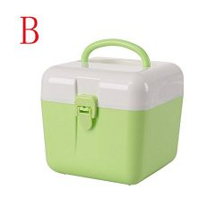 beyonds Portable Tool Cosmetic Medicine Storage Box bin, Perfect for Art and Craft Supplies, Too ...