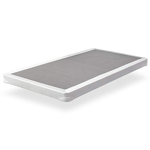 Spinal Solution 4-inch Low Profile Fully Assembled Foundation/Box Spring for Mattress, Twin Size