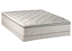 Continental Sleep 10 Medium Plush Innerspring Pillowtop Mattress and 4-inch Box Spring/Foundatio ...