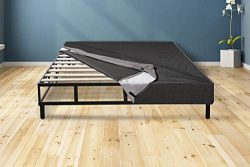 Mattress America Easy Assemble Mattress Foundation/Box Spring with Legs. Strong Steel Structure  ...