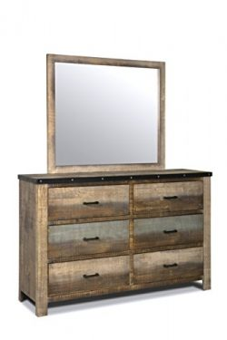 Coaster Home Furnishings 205094 Dresser Mirror, Antique Multi-Color