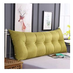 Cushion Double Bed Pillows Coarse Hemp Large Back Sofa Pillow Bed Back Cushion Bench Cushion 7 S ...