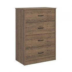 Mainstays 4-Drawer Dresser (Rustic Oak)