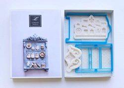 Lorena's Sweet Fondant Cookie Kit Armoire China Cabinet