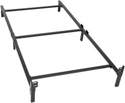 Amazon Basics 6-Leg Support Bed Frame – Strong Support for Box Spring and Mattress Set &#8 ...