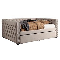 HOMES: Inside + Out IDF-1028F Donnely Daybed Full