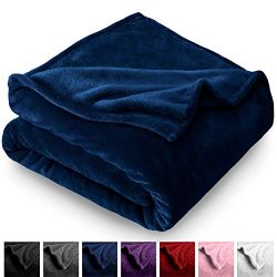 Bare Home Microplush Velvet Fleece Blanket – Twin/Twin Extra Long – Ultra-Soft ̵ ...