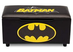 DC Comics Batman Upholstered Storage Bench for Kids | Perfect for Bedrooms/Playrooms/Living Room ...