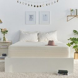 Brentwood Home Cypress Mattress, Bamboo Derived Rayon Cover, Gel Memory Foam, Made in USA, 9-Inc ...