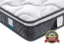 Inofia Sleeping Twin XL Mattress, Super Comfort Hybrid Innerspring Mattress Set with 3D Knitted  ...