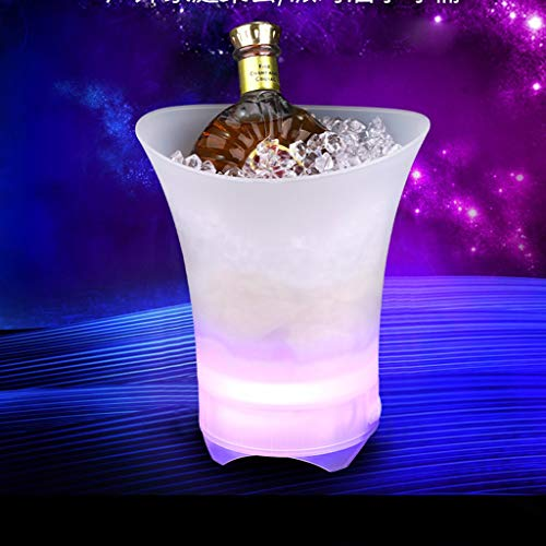 Ketuan Creative Colorful Bluetooth Ice Bucket Portable Speaker with LED Light Show Party Gift Be ...