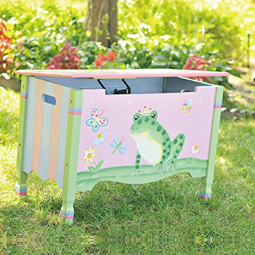 Fantasy Fields – Magic Garden Thematic Kids Wooden Toy Chest with Safety Hinges | Imaginat ...