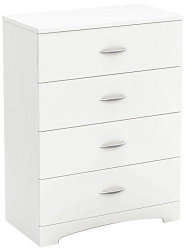 South Shore Step One 4-Drawer Chest, Pure White