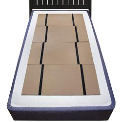 DMI Folding Bunkie Bed Board for Mattress Support, can be Used Instead of a Box Spring to Stream ...