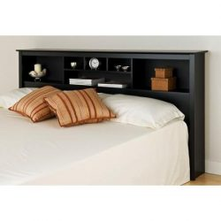 Brisbane King Storage Headboard, Black