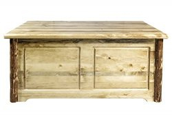 Montana Woodworks MWGCSBCS Glacier Country Collection Small Blanket Chest