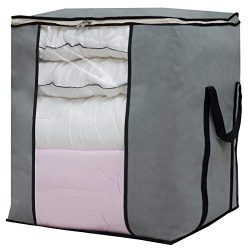 Sleeping Lamb Large Foldable Storage Bag Organizer Clothes Storage Container for Blanket Comfort ...