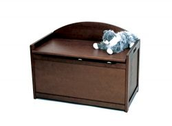 Lipper International 598WN Child's Toy Chest, 33.25″ W x 17.75″ D x 24.5&#8243 ...
